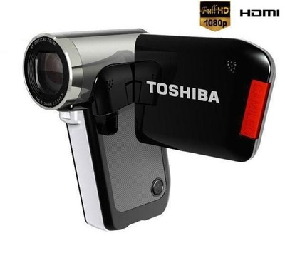TOSHIBA-Camileo-P30-Digitaler-Camcorder-1080p-5Mp