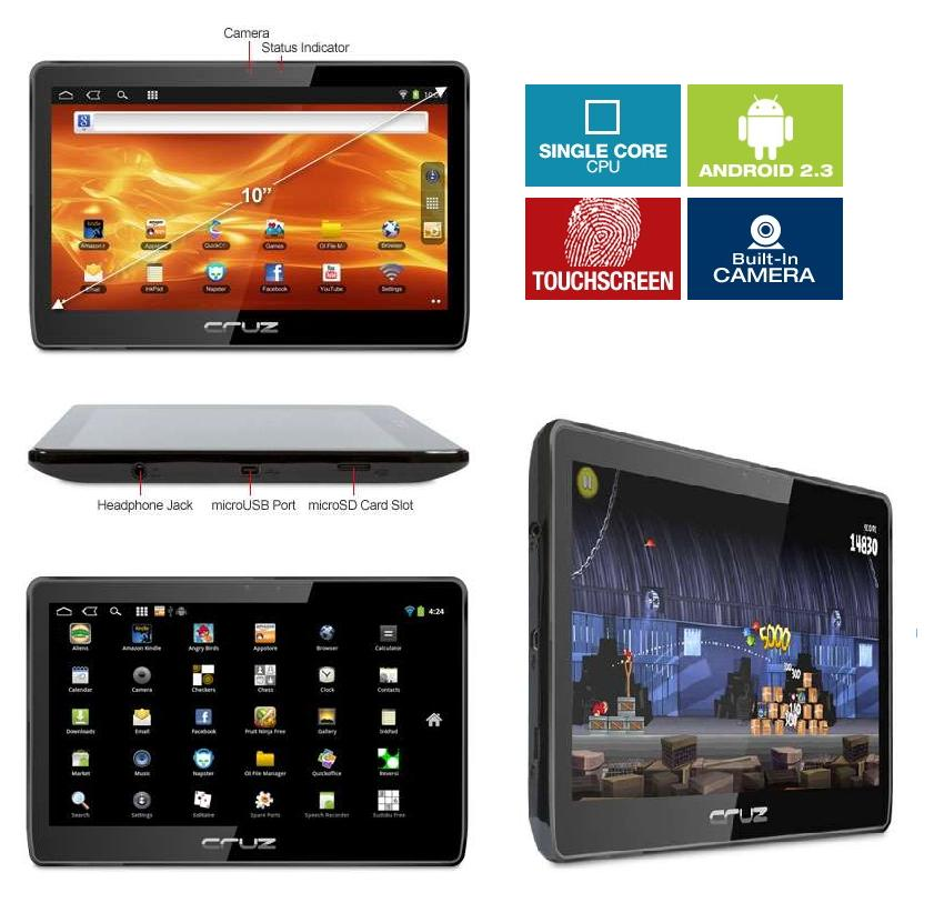 10 1 zoll tablet android multitouch capacitive display. Black Bedroom Furniture Sets. Home Design Ideas